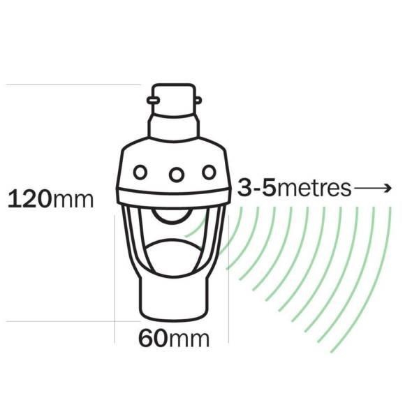 Sensor Lightglobe Adapter 2