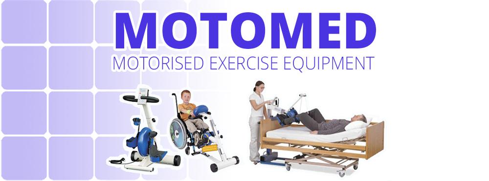 A motorised exercise bike for wheelchair users: Motomed