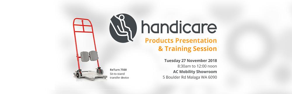 Handicare Presentation & Products Training Session