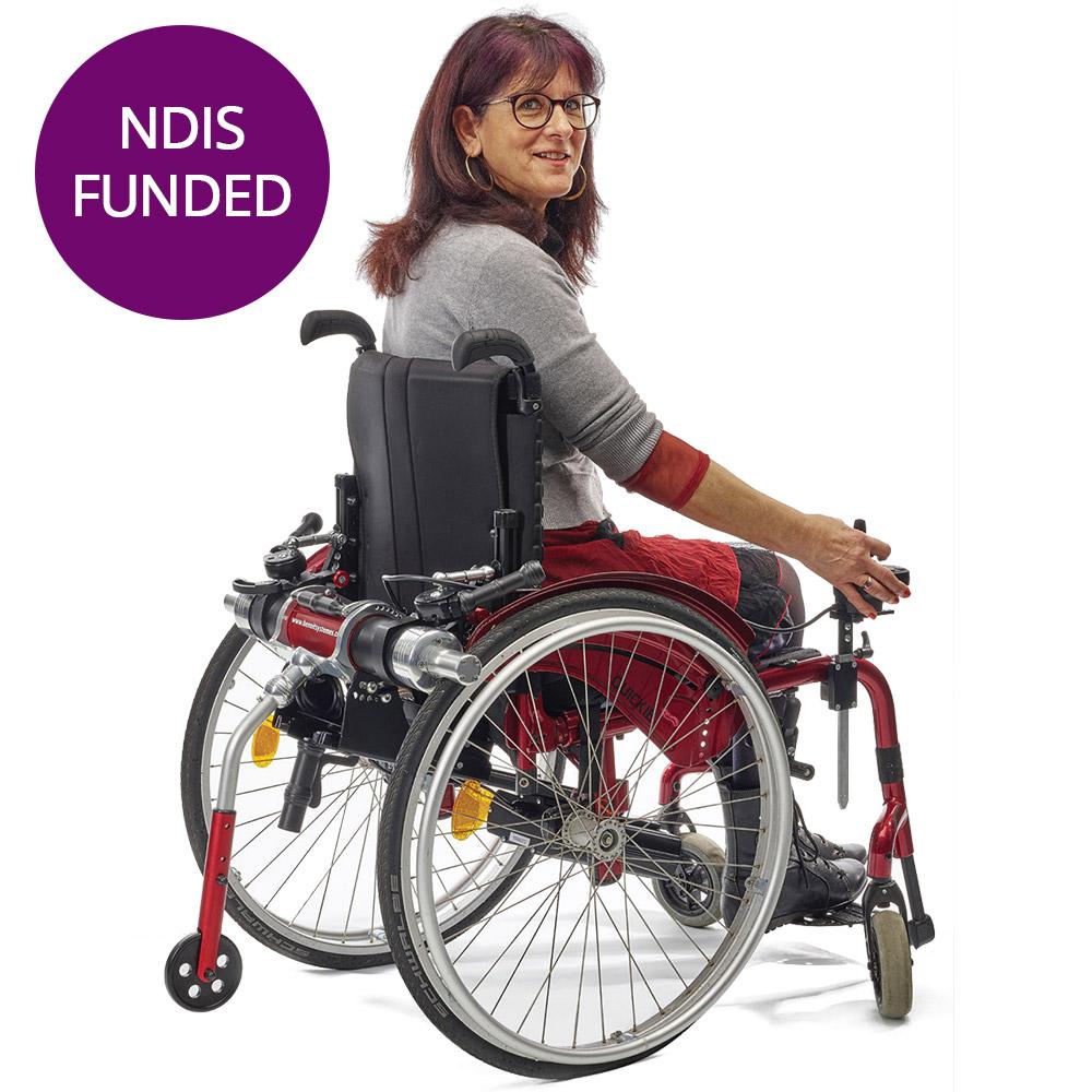 light drive wheelchair power assist