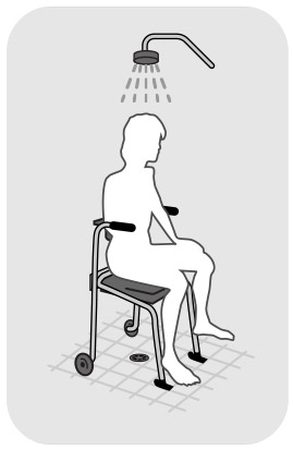 Hy5 shower chair