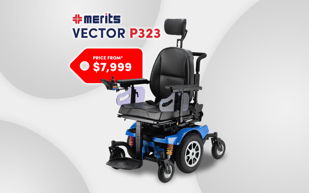 Vector P323 Electric Wheelchair: From $7,999 | Affordable, Adaptable, Adjustable
