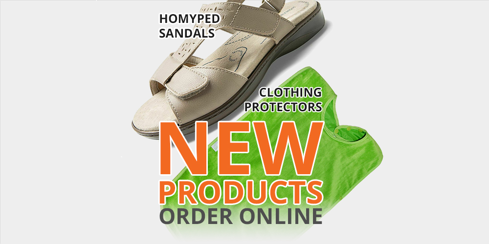 Homyped Sandals & Clothing Protectors | New Products