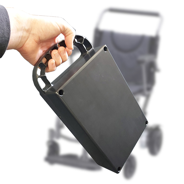 Fold and Go P113 foldable electric wheelchair portable battery