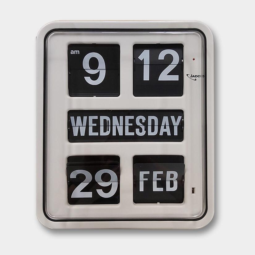 easy to read clocks - Day of the Week Calendar Clock