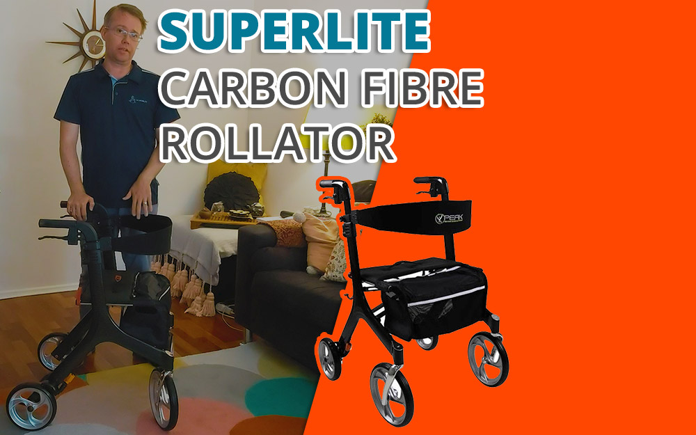 6 Great Things About The SuperLite Carbon Fibre Mobility Walker